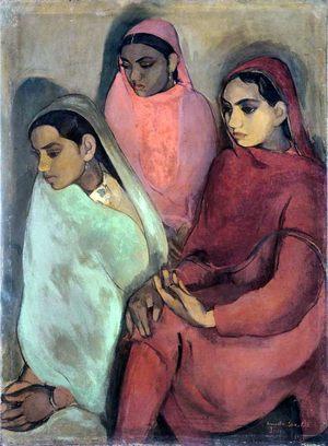Amrita Sher Gill Women