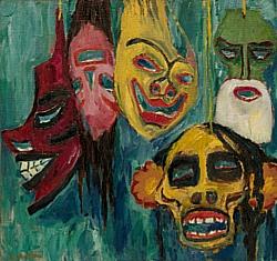 Masks Emil Nolde