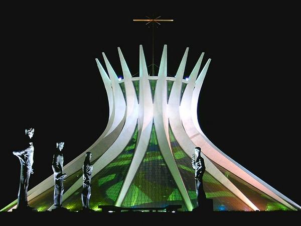 Niemeyer Cathedral of Brasilia